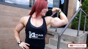 "Visit BOTH the Katie Lee AND the Annie ""Gunshow"" Dash Studios for the latest Katie Lee clips!"