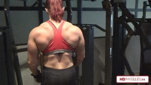 Look at that THICK and MEATY back.  Nobody does it better than Katie!