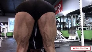 HOLY CRAP - look at those HAMSTRINGS - ripped and powerful! - Get Jill's new video today!