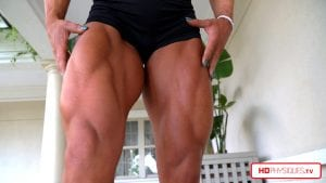 """Check out those MUCH improved legs on Alli - her wheels are SICK!   Get this amazing new video in contest shape TODAY in the """"Alli and her Big 16's"""" Clips studio!"""