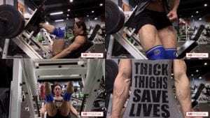 Simply UNREAL, phenomenal leg power!  Get this awesome video of the Calves SuperGoddess today!