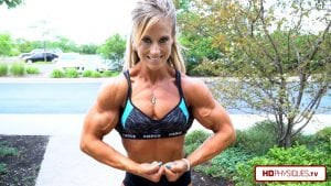 Big vascular biceps, and much much more!  Get the new video today in the Alli Schmohl and Her Big 16's Clips Studio!