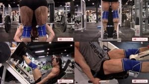 "MEGA-RIPPED Jill Diorio in a muscle blasting leg workout - Order this today from her ""Calves Galore"" Clips Studio!"