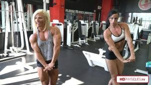 Annie Gunshow gets a posing lesson from one of the IFBB's best - Brooklyn T. Walker!  Get the new video today in the Annie Gunshow Clips Studio!
