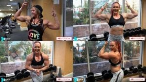 Get the NEW Katie Lee video, training with Irinia Berishnikov, today in the Katie Lee - Peak Power Studio at HDPhysiques.TV!