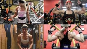 The Craziest biceps peaks in all of figure (and possibly soon to be, physique!) - get 5 videos now from the Peak Freak of Figure Studio - Hailey Delf!