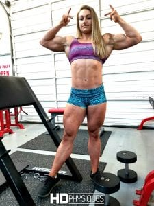 Beefnuggette is looking to take on Katie Lee and her mountainous biceps in 2018!  Get both of their videos and email us your pick for who's gonna win the summer 2018 biceps battle!