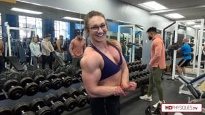 Nuggett's arms are HUGE, POWERFUL and MEGA STRONG.  Click here to get this HOT new video now!