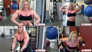"""Take advantage of the promo launching June 1st (here's a 1 day advance notice!)... buy 3 clips, get 2 free!  All 3 of Hailey's """"Rips it up in the Gym"""" clips would be a good place to start!  Then email us your choice of 2 free ones!"""