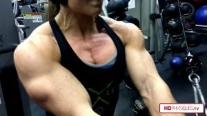 Nuggy's crazy powerful upper body and chest - get this hot video now - click here!