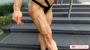 Ripped and shredded from every angle!  Get this amazing new Jill Diorio Video today!