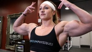 "Looking HUGE and pumped!  Get the NEW Paige ""Beefnuggette"" Sandgren video today!"