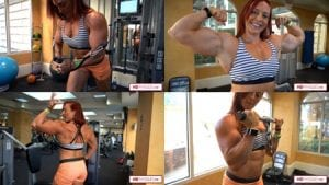 Head over to the Katie Lee Clips Studio to pick up this HOT new gym video from the recent 2018 Olympia - Katie is HUGE and POWERFUL!