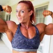 Outstanding NEW Katie Lee Massive Biceps Video Added!