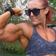 Katie's CRAZY Biceps!!!  More Ripped and Powerful than Ever!