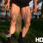 RIPPED Female Muscle – New Dana Shemesh Video in the HDP Studio!