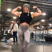 NEW Hailey Delf Contest Shape Video Now Available – RIPPED!
