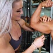 New Brooke Walker MEASUREMENTS Video with Kaitie Hart Posing!