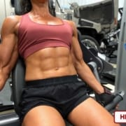 Autumn Swansen with a HUGE Return – Ripped Gym Power!