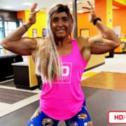 Taylor Smuck with a NEW Vid with Explosive Biceps & Quads!