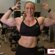 Katie Lee – Offseason FREAKIN HUGE Muscle Mass – NEW VIDEO!