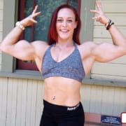 Katie Takes On Taylor – MASS MUSCLE in the Park!