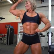 NEW VIDEO in the Brooke Walker Studio – Katie vs Brooke Back Challenge!