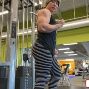 New MASS MUSCLE Gym Clip of Enormous Taylor Smuck!