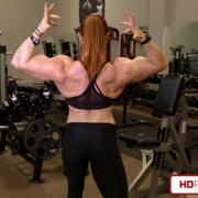 Big Muscle Mass Vid Added – Katie Lee Strikes Again!