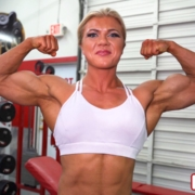 BRAND NEW – RIPPED Contest Shape Gym Shoot of Carli Terepka in The Dungeon!