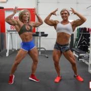 ALL NEW – Contest Shape CARLI & BROOKE!  Sensational SHREDDED Muscle Challenge!