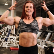 BIG ASS BICEPS!  All New Katie Lee Video Now Available in her Peak Power Studio!